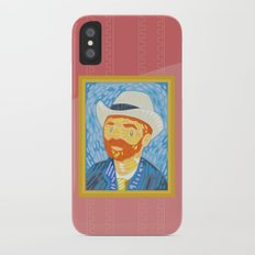 Selfie Van Gogh iPhone X Slim Case