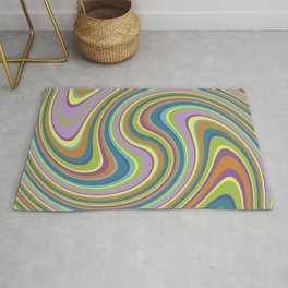 Twist and Shout-Jardin colorway Rug