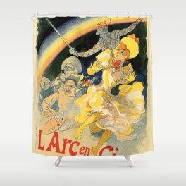 The rainbow L'arc en ciel ballet Shower Curtain