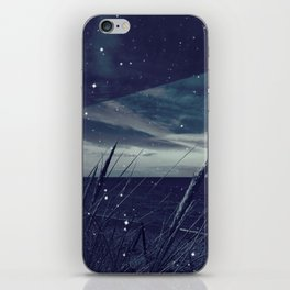 Before the storm - night iPhone Skin