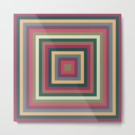 colorful squares Metal Print