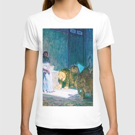12,000pixel-500dpi - Henry Ossawa Tanner - Daniel in the Lions' Den - Digital Remastered Edition T-shirt