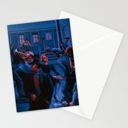 African-American Classical Masterpiece Gettin' Religion by Archibald Motley Stationery Cards