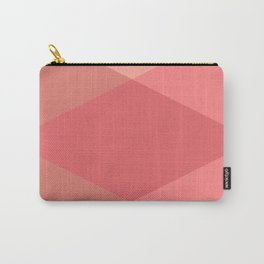 Rose Triangles Carry-All Pouch
