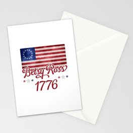 Betsy Ross Flag 1776 Stationery Cards