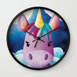 Lucy Liunicorn - Unicorn - Magical - Nursery - Fantasy Wall Clock