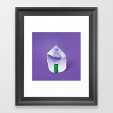 Crystal Castle Framed Art Print