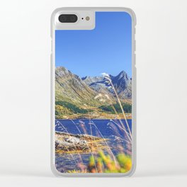 Exploring the Fjord Clear iPhone Case