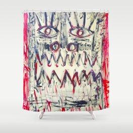 Esprit du Primitif by Johnny Otto Shower Curtain