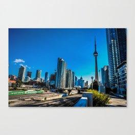 Downtown Toronto View Canvas Print