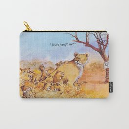 don't tempt me! Carry-All Pouch