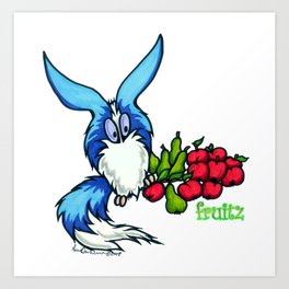 MOGLETZ - The Fruitz! Art Print