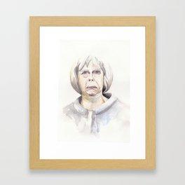 THERESA MAYBE Framed Art Print
