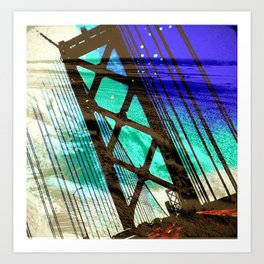 SFO Bound Art Print
