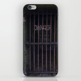 Danger 1 iPhone Skin