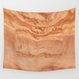 Olive wood board texture Wall Tapestry