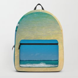 maui beaches into the blue Backpack