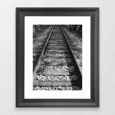 NONSTOP RAILWAY Framed Art Print