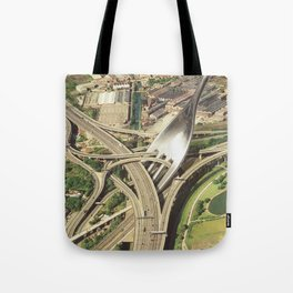 Spaghetti Junction Tote Bag