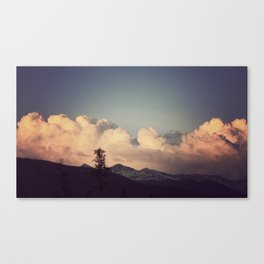 Pink Clouds Canvas Print