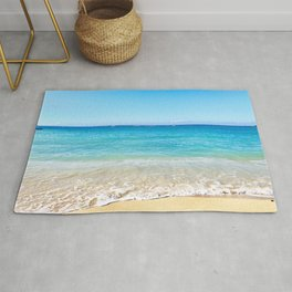 Clear Blue Sky View Rug