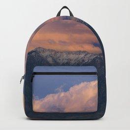 Southwest Winter Sunset - Virgin Mountains Backpack