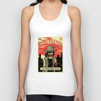 grimes Tank Tops featuring Walker Grimes by Stationjack