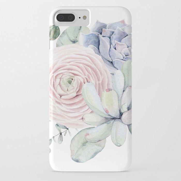 succulent blooms iphone case