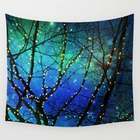 twilight Wall Tapestries featuring twilight by Sylvia Cook Photography