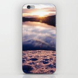 Sunrise at Crater Lake, Oregon iPhone Skin