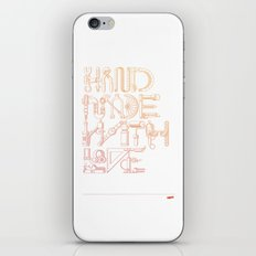 Hand Made With Love iPhone & iPod Skin