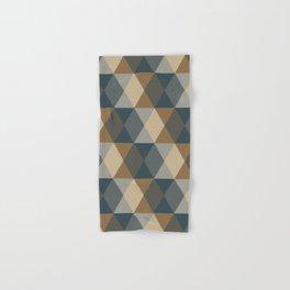 Caffeination Geometric Hexagonal Repeat Pattern Hand & Bath Towel