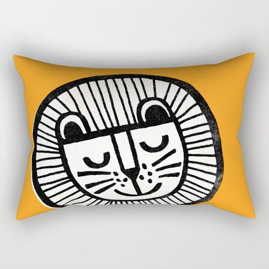 HAPPY LION Rectangular Pillow