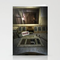 soviet Stationery Cards featuring Radio Soviet One by Cozmic Photos