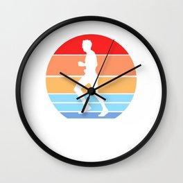 Jogging Wall Clock