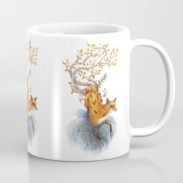Fox Tree Coffee Mug