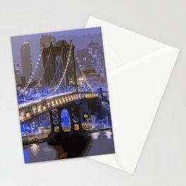 Lights of New York City Stationery Cards