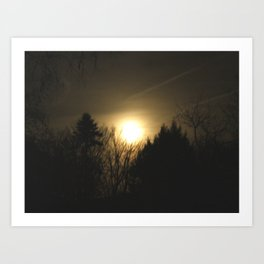 The Perfect Moon Art Print