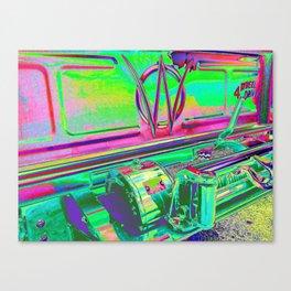 Neon Wally Winch Canvas Print