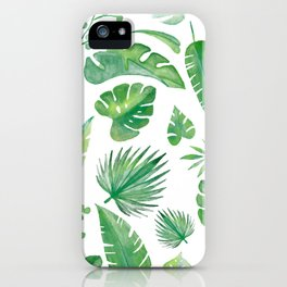 Tropical days - series -  iPhone Case