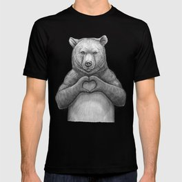 Bear with love T-shirt