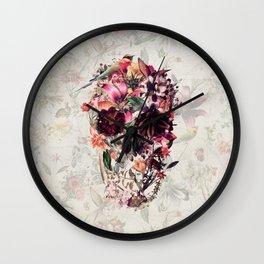 New Skull 2 Wall Clock