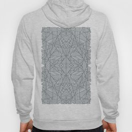 Ab Lace Black and Grey Hoody