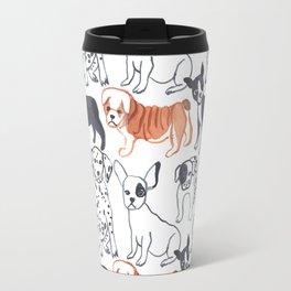 dogs pattern Travel Mug