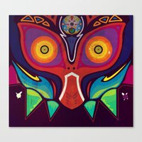 majora Canvas Prints featuring Majora by Tommy Price