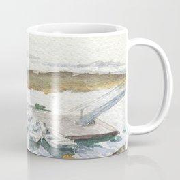 The Boats Are Singing Coffee Mug