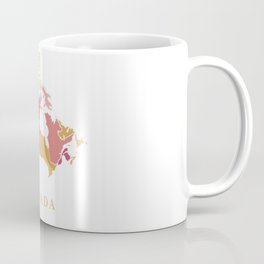 Canada map Coffee Mug