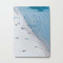 Beach Life 3 Metal Print