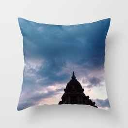 Paris Sky Throw Pillow