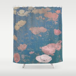 Capricious Tulips I Shower Curtain
